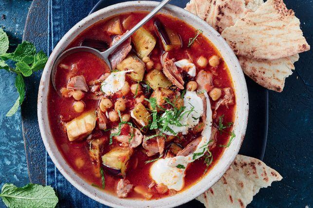 Moussaka soup